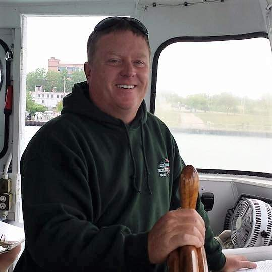 Captain Steve Carrothers of Diamond Jack's River Tours.